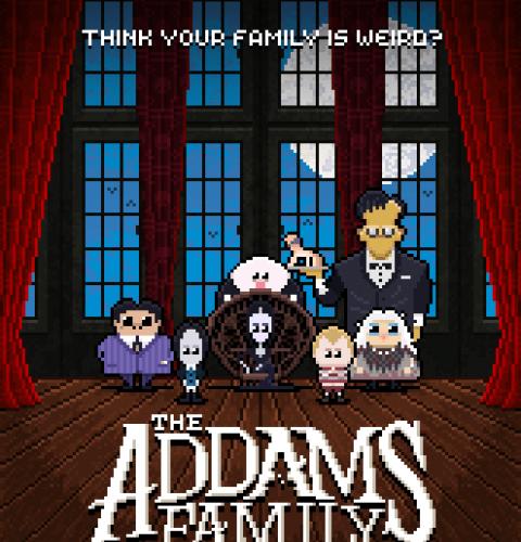 the addams family 8bit theoluk