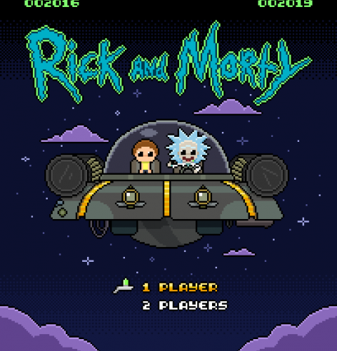 rick morty players x2